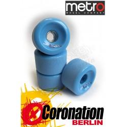 Metro Wheel Motion roulettes 70mm 80a - bleu