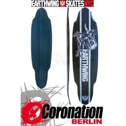"Earthwing Carbon Superglider 38"" bleu/Braun"