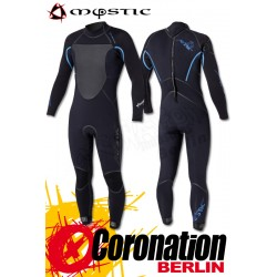 Mystic Voltage 5/4 D/L Fullsuit Black/Blue