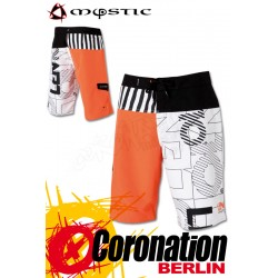 Mystic Boardshort Len10 Vertical Dutch Orange