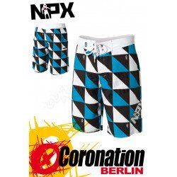 NPX Boardshort Origami Teal/Black
