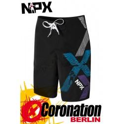 NPX Boardshort Triple X Black