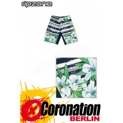Ripzone Boardshorts Watercolour Floral Indigo