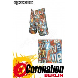 Ripzone Boardshorts Graphic Series Letters