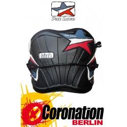 Pat Love TFM contour Trapez Kite Waist Harness Black-Carbon