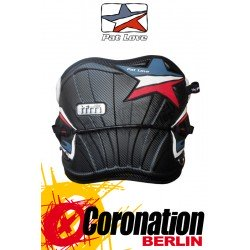 Pat Love TFM contour Trapez Kite Waist Harness Black-Carbon