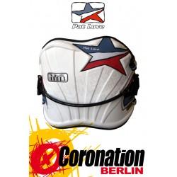 Pat Love TFM contour Trapez Kite Waist Harness White