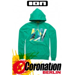 ION Hooded Zip Sweat Manifold Hoody Woodruff vert