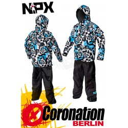 NPX Lucifer 2012 Trockenanzug Drysuit White/Blue/Black