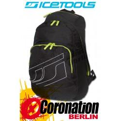 ICETOOLS Cruzer Freizeit Laptop Rucksack Street & Schul Backpack Black