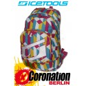 ICETOOLS Cruzer Freizeit Laptop Rucksack Street & Schul Backpack Pink Multi Color
