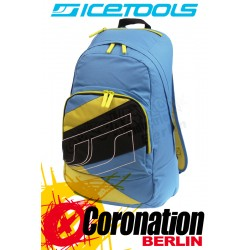 ICETOOLS Cruzer Freizeit Rucksack Street & Schul Backpack Blue/Yellow
