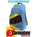ICETOOLS Cruzer Freizeit Laptop Rucksack Street & Schul Backpack Blue/Yellow