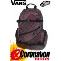 Vans Utility Girls Skate Backpack Schul Street Freizeit Rucksack Electric Grape