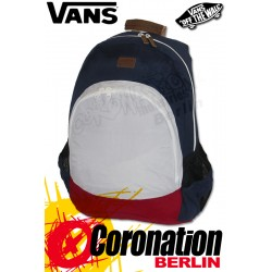 Vans Van Doren Backpack Street-Rucksack Dress Blues Color Block