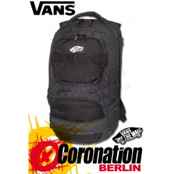Vans Shroud Skatepack Laptop & Sport Rucksack Black Checks