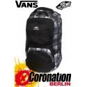 Vans Shroud Skatepack Street Rucksack Black/White/Gray Plaid