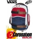 Vans Transient Schul-Skateboard-Rucksack Dress Blues Color Block