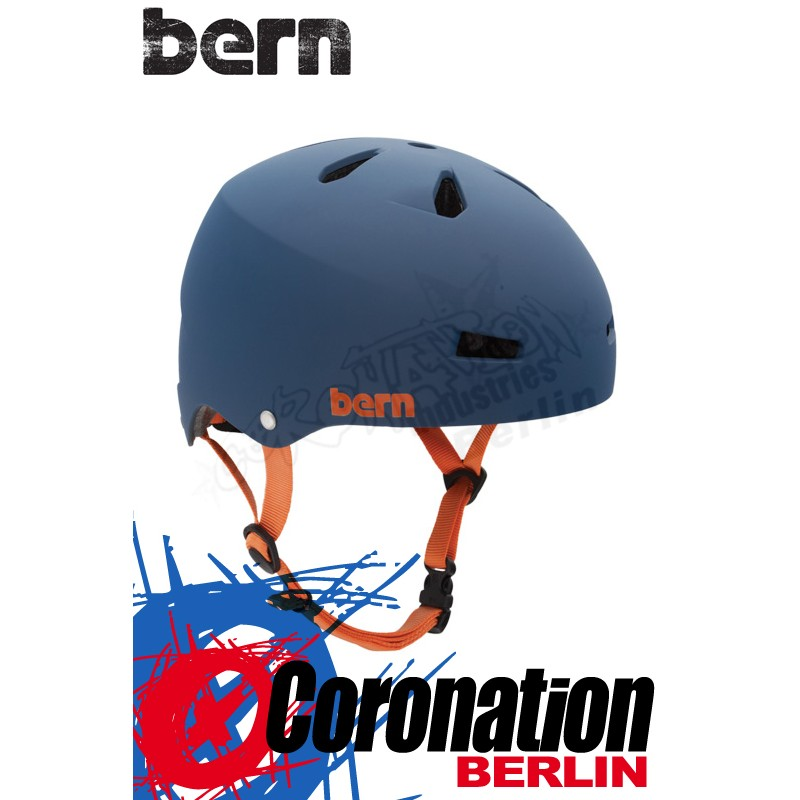 Bern Kite-Helm Macon H2O - Blue