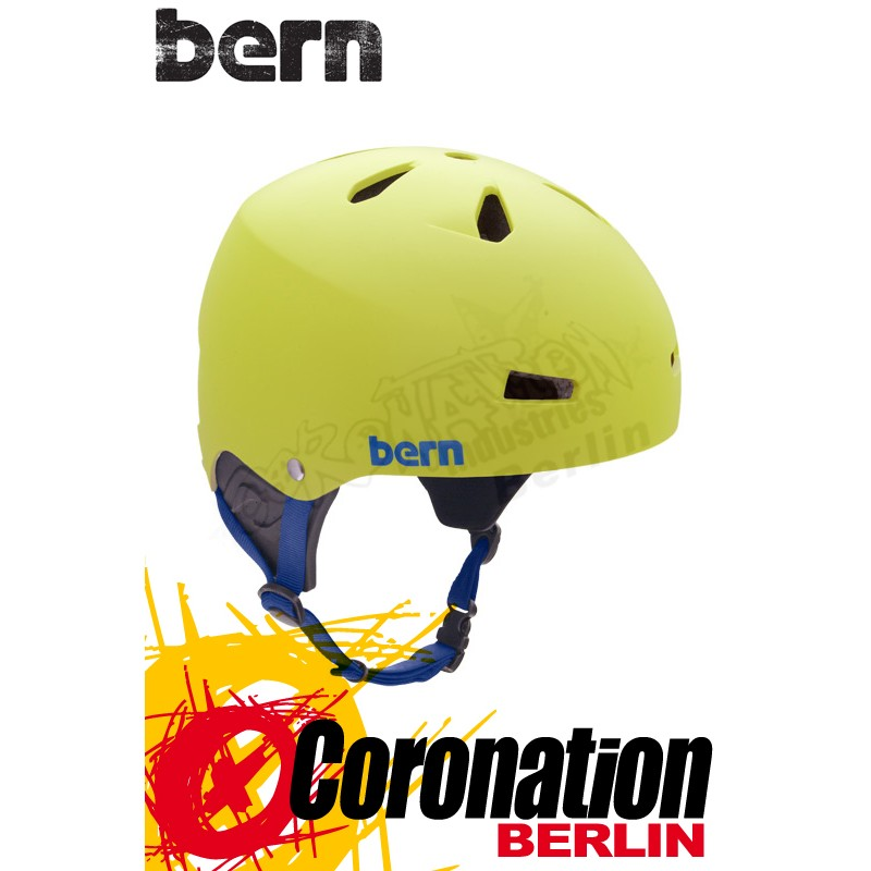 Bern Kite-Helm Macon H2O - Yellow