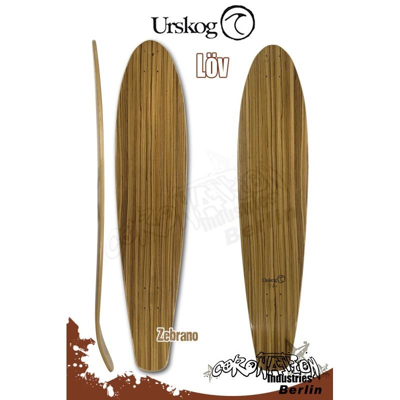 Urskog Löv Longboard Deck
