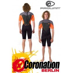 Prolimit Fusion Shorty 2/2 Neoprenanzug Orange/Green