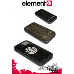 Element Phyto 4G Case iPhone 4 Silikon Handy Cover Schutzhülle Black