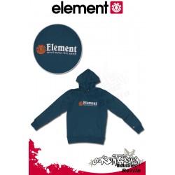 Element Horizontal Ho Hoodie Morrocan Blue