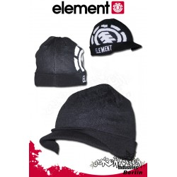 Element Operator Beanie Mütze Black