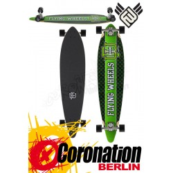 Flying roues Varsity 43 Lime Celtic complète Longboard