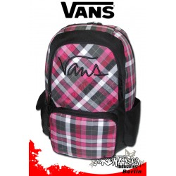 Vans Boxie Hot Pink Laptop & Schul Rucksack