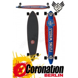 Flying roues Varsity 43 Blue Patriot complète Longboard