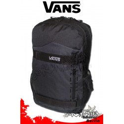 Vans Authentic Black Freizeit-Skateboard-Rucksack