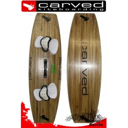 Test Kiteboard Carved Imperator IV Wood 139x42
