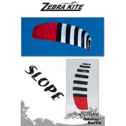 Zebra Kite Slope DePower-Kite Komplett