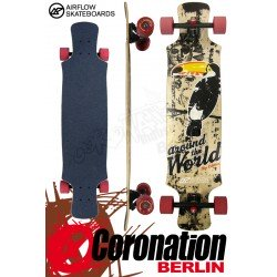 Airflow Longboard Komplett Around The World 101cm
