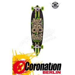 Mindless Tribal Rogue II Blk/Grn Komplett Longboard