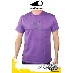 Soöruz T-Shirt Wires Purple SS