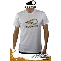 Soöruz Caps S/S T-Shirt White