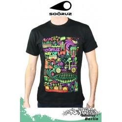 Soöruz Aday T-Shirt Black SS