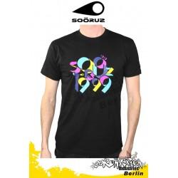 Soöruz 99D S/S T-Shirt Black
