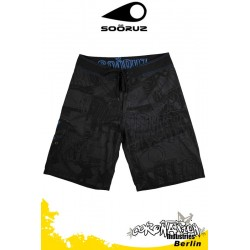 Soöruz Boardshort URBAN Black