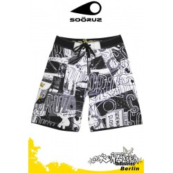 Soöruz Boardshort URBAN White