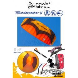 HQ Beamer V Softkite 4.0 R2F Handle Kite