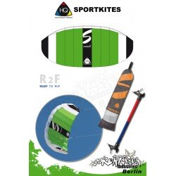 HQ Symphony TR 1.4 R2F 2011 Lenkmatte Sportkites Powerkite