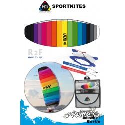 HQ Symphony Beach II 2.1 Rainbow Lenkmate Sportkites
