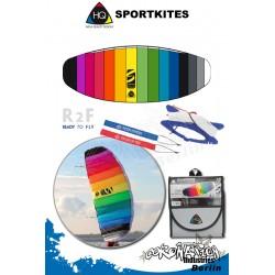 HQ Symphony Beach II 1.7 Rainbow Lenkmate Sportkites
