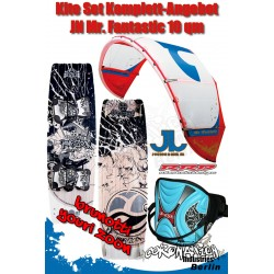 Kite Set Komplett - JN Mr. Fantastic 10 m² - Youri Zoon - Trapez