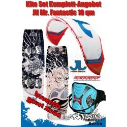 Kite Set Komplett - JN Mr. Fantastic 10 m² - Youri Zoon - Trapez