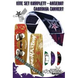 Kite Set Komplett - Cabrinha Convert 12 m² - Big Mama